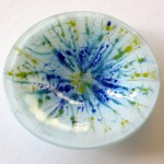 'Spring' Fused Glass Bowl 120mm